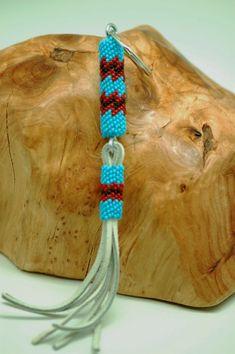 Key Chain Navajo | Native American Jewelry | Navajo Beaded Key Chain