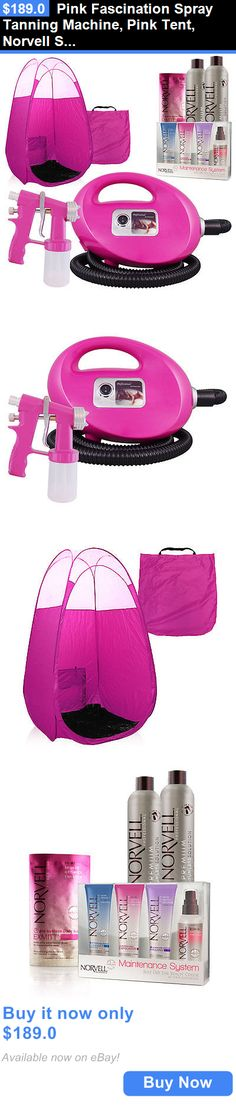 Sunless Tanning Products: Pink Fascination Spray Tanning Machine, Pink Tent, Norvell Solution, Sunless Kit BUY IT NOW ONLY: $189.0