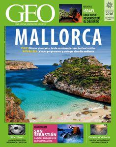 Revista #GEO 347. #Mallorca. #Viajes: diversa y tolerante, la #isla se reinventa como destino turístico. #Naturaleza, la lucha por preservar y proteger el medio ambiente.