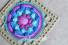 Good morning. I am very excited to share with you my newest design 'Lace and Bloom'.  It's a beautiful, textured granny square that I am love with and I hope you will be too.…
