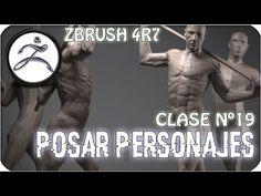 Zbrush en Español #18   Como posar personajes con Transpose