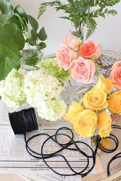 A Fabulous Fete: flower bar favors