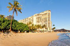 Waikiki's only beachfront condominiums!