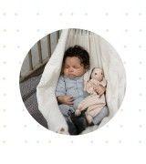 Idee regalo per neonati - SET nascita - amaca e coniglietto