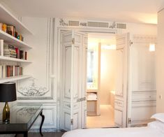 Fashion brand Maison Martin Margiela have completed their first hotel interiors at the Maison Champs Elysées in Paris.