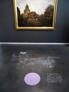 Illustrations for Centraal Museum Utrecht by Studio Sjoesjoe