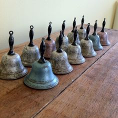 School Bells. I loved to hear those bells ring at boarding school.