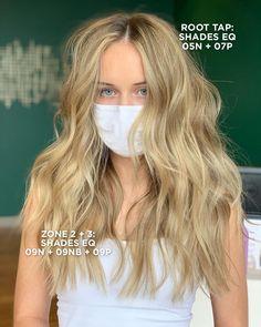 Diy Hairstyles, Wedding Hairstyles, Haircuts, Redken Hair Color, Redken Hair Products, Hair Color Formulas, Hair Toner, Redken Shades Eq, Hair Ideas