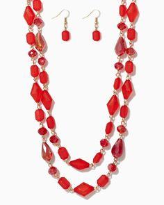 charming charlie | I Dream of Jewels Necklace Set | UPC: 410006750371 #charmingcharlie