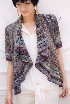 Crochet bolero — Crochet by Yana