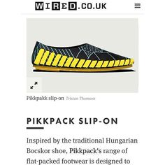 """Have you seen it? Our x Pikkpack collection is magazine! 👉 """"The Best Shoes To Stay One Step Ahead Of The Pack"""" 3d Light, Have You Seen, 3 D, Innovation, Footwear, The Unit, Good Things, Magazine, Instagram Posts"""