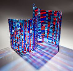 Blue City  glass sculpture by vaglass on Etsy, $2450.00