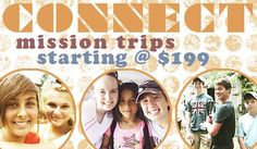 Mission Discovery Spring and Summer Mission Trips | Mission Trips for Youth, Adults, College Age, and Christian Schools
