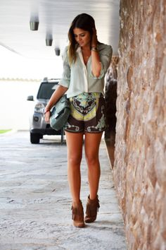 Chic is the new unique. swag Fabulous Fashion - Street Swag Style. Summer 2015 HOT SHORTS