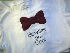 Bowties are Cool by GreenGableCreations on Etsy, $18.00