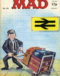 Mad Magazine – The Magic Robot Mad Magazine, Magazine Covers, Boy Or Girl, Cartoons, Baseball Cards, Amazing, Top, Cover Pages, Cartoon