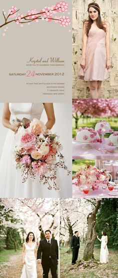 Cherry blossoms... great bridal shower theme