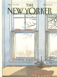 The New Yorker - Monday, November 19, 1984 - Issue # 3118 - Vol. 60 - N° 40 - Cover by : Arthur Getz