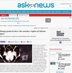 Slamp on Aska News - April 2015