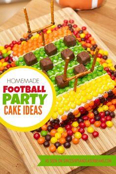 Cute Football Party Cake Idea!