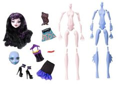 Monster High Create-a-monster Vampire-sea Monster Starter Set Y6610 Mattel…
