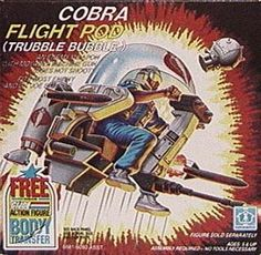 Hasbro GI Joe - Cobra Flight Pod (Trubble Bubble) - via Cracked.com - 20 Stupidest GI Joe Vehicles