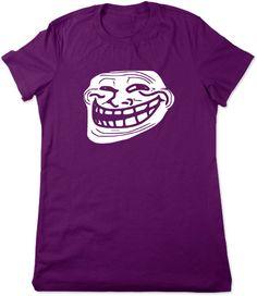 bea9e42aa5 Troll Face You Mad Bro Funny T Shirt Meme tshirt by TheGeekyTavern