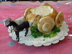 Image result for party food for kids bread carriage