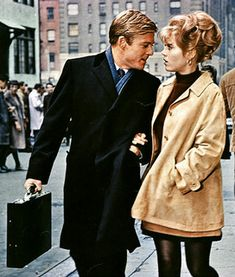"One of my all time favorite movies, and two of the prettiest people on the planet: Robert Redford & Jane Fonda in ""Barefoot in the Park,"" 1967"