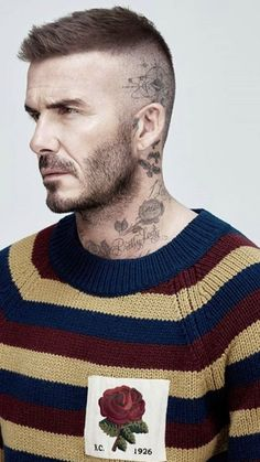 49 Amazing Beards and Hairstyles for Modern Men is part of Mens hairstyles short - So to further improve the characteristics of a square face, the ideal beard style is going to be a goatee […] Cabelo David Beckham, Estilo David Beckham, David Beckham Haircut, David Beckham Style, David Beckham Short Hair, David Beckham Beard, Best Short Haircuts, Haircuts For Men, Short Hair Cuts