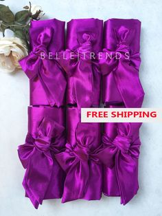 Get ready in style with these luxurious personalize satin robes for your bridesmaids.  On Sale! Was $22/robe, NOW $17/robe! These robes are made high quality silk feel material with slight shine on the surface. Very elegant and classy. Perfect for personal wear, ladys night, and bridal parities. These robes comes in 12 colors- navy, red, purple, ivory, hot pink, gold, coral, burgundy, champagne, pink, black, aqua. You can mix and match the colors according to you liking. This Listin...