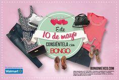 ¿Aún no sabes qué regalar a mamá? en Bongo tenemos de todo para todas: jeans, vestidos, faldas, accesorios, zapatos.