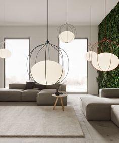 Ideas For Bedroom Lighting Ideas Interior Design Estilo Interior, Mid-century Interior, Interior Design, Apartment Interior, Design Interiors, Apartment Ideas, Interior Ideas, Modern Lighting Design, Cool Lighting