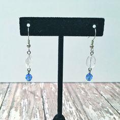 Rose Quartz Earrings | Rose Quartz Jewelry | Pink Quartz Earrings | Pink Stone Earrings | Quartz Drop Earrings | Earrings Rose Quartz - pinned by pin4etsy.com