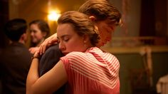 """""""Brooklyn"""" Directed by John Crowley • Written by Nick Hornby  Saoirse Ronan is an immigrant who leaves 1950s Ireland for New York in the adaptation of Colm Tóibín's acclaimed novel. Scripted by Nick Hornby, """"Brooklyn"""" traces Eilis Lacey as she finds love and makes peace with her new home. Domhnall Gleeson, Jim Broadbent and Julie Walters also star."""