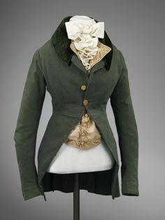 Lady's Riding Habit 1790s The Victoria & Albert... | gdfalksen.com