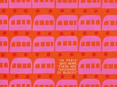 Toy Room Print Henri's Walk to Paris by Saul Bass, Spectacular children's book that is unfortunately out of print. Saul Bass, Textures Patterns, Print Patterns, Kids Patterns, Graphic Design Illustration, Illustration Art, Graphic Art, Pretty Things, Paris Design