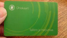 Ti-ti-uu / titiuu72: Tallinnan Ühiskaart-matkakortti