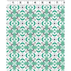 Ardienne - Collections Teal Modern Geo Fabric