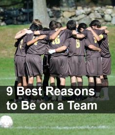 9 Best Reasons for Your Kid to Join a Team