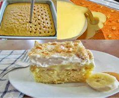 The Simple Solution Mom: BANANA PUDDING CAKE