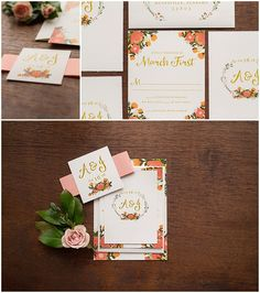 Outdoor + Floral Invitation Suite // shopsaltandpaperie.com/pages/bridal-collection
