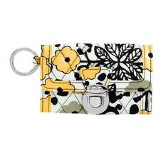 Vera Bradley QUICK SWIPE ID Mini Wallet NWT GO WILD Coin Purse