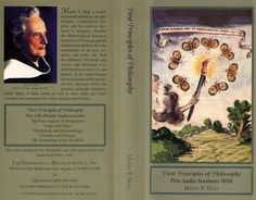 First Principles of #Philosophy — Lectures by Manly P. Hall