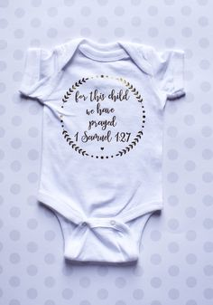 Cute Baby Onesies, Newborn Onesies, Newborn Baby Gifts, Baby Shirts, Boy Onesie, Baby Scripture, Rainbow Baby Onesie, Gender Neutral Baby Clothes, Beautiful Baby Shower