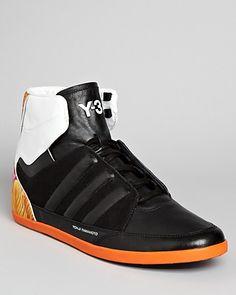 Adidas Y-3 Honja Floral High Top Sneakers | Bloomingdale's