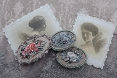 Grey shades and romance by Virvi on Etsy