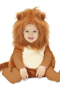 Disfraz de León Capucha para Bebé