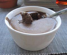 Receita Gelado de Alfarroba sem lactose e sem gluten por Luidji - Categoria da receita Sobremesas