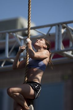 """Julie Foucher: """"Most people don't see their full potential. Unhealthy eating and unhealthy lifestyle just takes over..."""""""